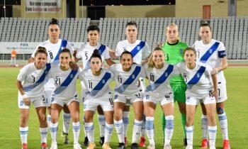 Στον «αέρα» είναι η διεξαγωγή του αγώνα της Εθνικής γυναικών στο ποδόσφαιρο με την Σλοβενία.