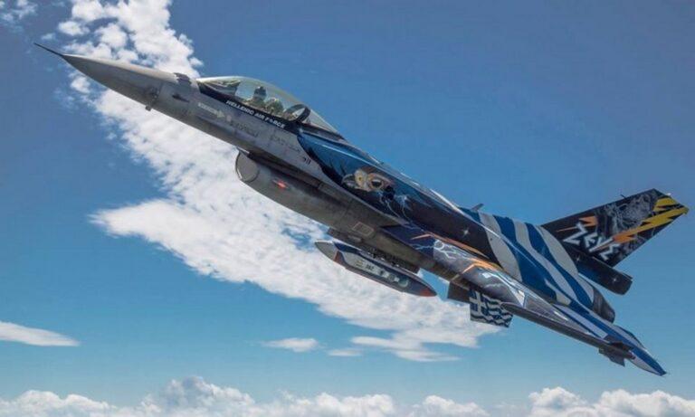 Το F-16 ΖΕΥΣ σκίζει τον ουρανό της Θεσσαλονίκης και στέλνει ηχηρό μήνυμα στους Τούρκους