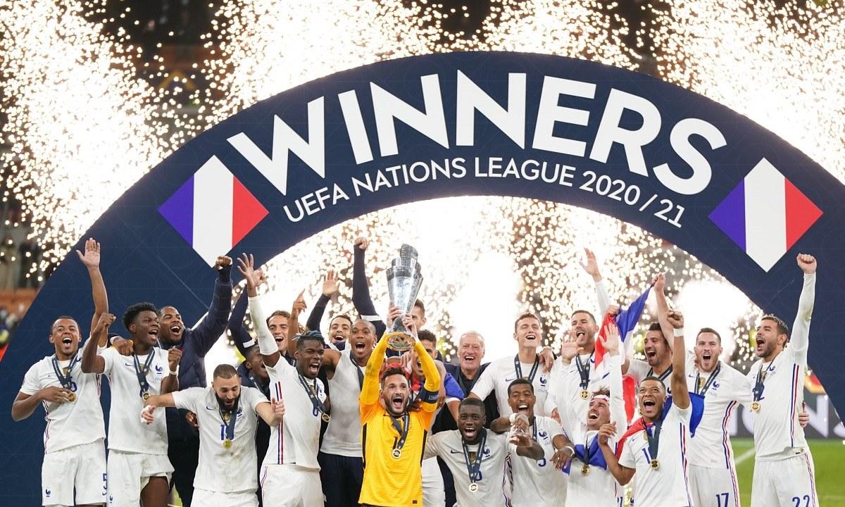 Γαλλία: Ο θρίαμβος στο Nations League στέλνει το πιο ηχηρό μήνυμα στον ανταγωνισμό εν όψει του Παγκοσμίου Κυπέλλου στο Κατάρ