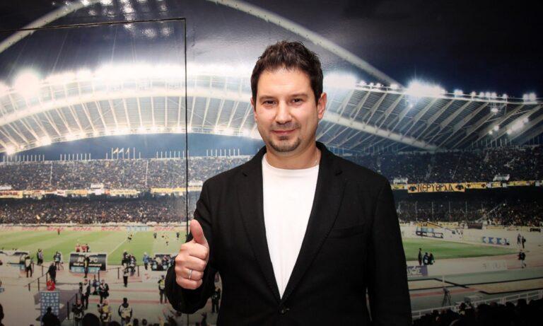 Ο Αργύρης Γιαννίκης ως τεχνικός της ΑΕΚ