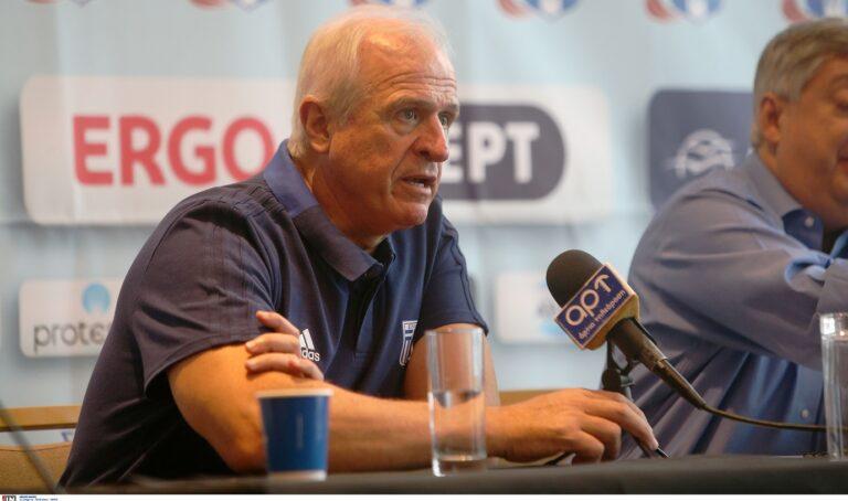 Τέλος ο Γιάννης Κουτσιώρας από εθνικός προπονητής, που αναλαμβάνει άλλο πόστο και είναι δίπλα στον ΣΕΓΑΣ