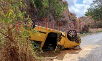 Τροχαίο δυστύχημα στην Κρήτη με θύμα έναν 56χρονο άνδρα νεκρό