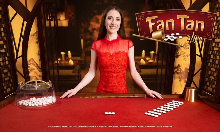 Fan Tan Live: Η παράδοση της Κίνας στο live casino της Novibet