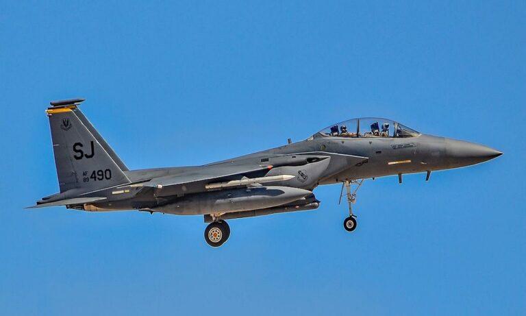 Ελληνοτουρκικά: Γέμισε F-15E Strike Eagle η 110 Πτέρυγα Μάχης - Στόχος τους η Μαύρη Θάλασσα