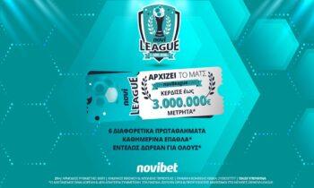Λονδρέζικο ντέρμπι απόψε στην Novileague   3.000€* για τους νικητές