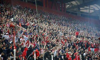 Η ΠΑΕ Ολυμπιακός εξέδωσε ανακοίνωση για την διάθεση των 1.200 εισιτηρίων ενόψει του αγώνα με την Άιντραχτ στη Φρανκφούρτη για την 3η αγωνιστική του Europa League (21/10, 22:00).
