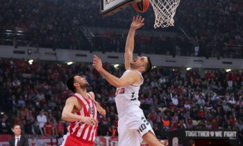 Basket League: Στις 22 Νοεμβρίου θα διεξαχθεί στο ΣΕΦ το μεγάλο ντέρμπι της Basket League μεταξύ Ολυμπιακού και Παναθηναϊκού.
