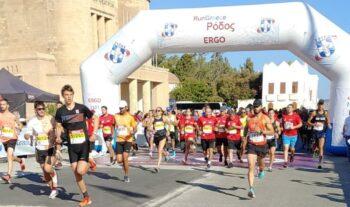 Η Ρόδος, μαζί με τα Ιωάννινα αποτέλεσαν τους τελευταίους σταθμούς της φετινής σειράς αγώνων δρόμου Run Greece που διοργανώνει ο ΣΕΓΑΣ.