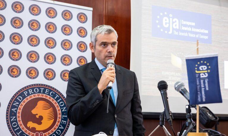 Κώστας Καραγκούνης: Σε συνέδριο της Ευρωπαϊκής Εβραϊκής Ένωσης για τον αντισημιτισμό ο