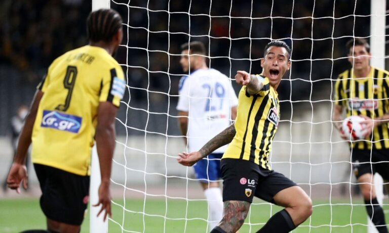 ΑΕΚ-Ατρόμητος 3-0: Ωραίο ντεμπούτο Γιαννίκη, όπως θα το ήθελε! (vid)