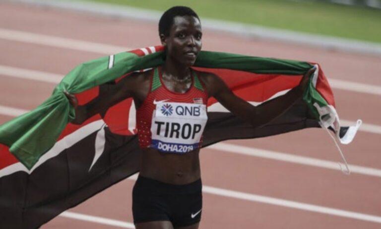 Σοκ στον Στίβο: Νεκρή η Ολυμπιονίκης Άγκνες Τιρόπ – Την μαχαίρωσε ο άντρας της!