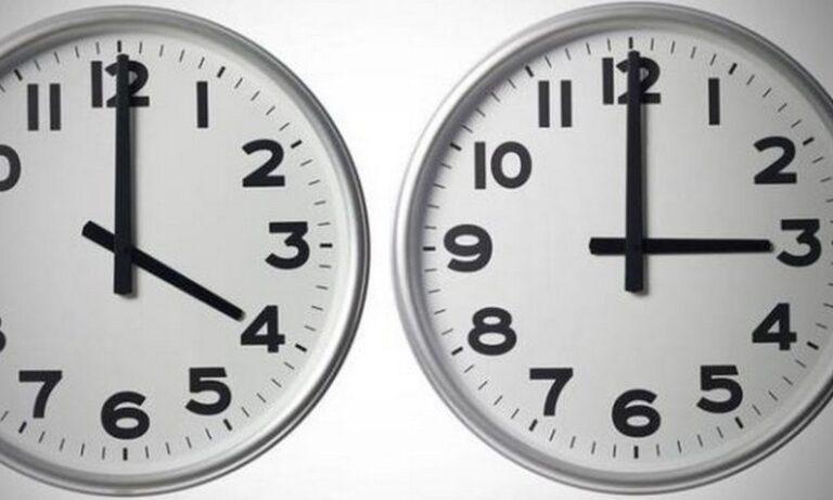 Αλλαγή ώρας: Η επίσημη ανακοίνωση του Υπουργείου Μεταφορών για το τι θα γίνει