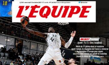 Απίστευτο εξώφυλλο στην «Equipe» ο Κώστας Αντετοκούνμπο!