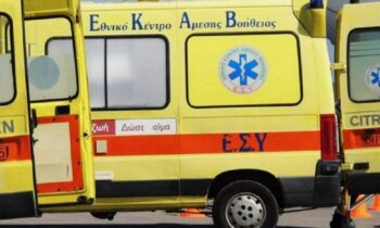 Λαμία: Ασθενοφόρο του ΕΣΥ