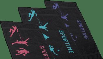 Αθλητικές πετσέτες Sportime