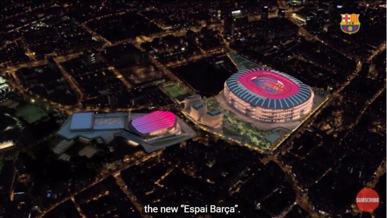 Μπαρτσελόνα: Το νέο «Καμπ Νου» θα θυμίζει… διαστημόπλοιο! (vid)