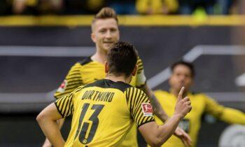 Η Ντόρτμουντ επικράτησε 2-1 της Άουγκσμπουργκ για την 7η αγωνιστική της Bundesliga