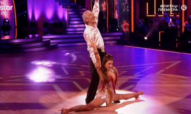 DWTS: Ο Τάσος Παλαντζίδης τα σάρωσε όλα χορεύοντας «sex bomb»!