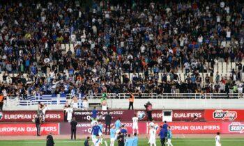 Εθνική Ελλάδας: Η ΕΠΟ ενημέρωσε τους φιλάθλους για τα εισιτήρια με την Ισπανία μκαι το Κόσοβο για τα προκριματικά του Μουντιάλ.