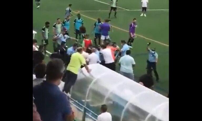 Πυροβολισμοί, μπουνιές και άγριο ξύλο σε αγώνα ποδοσφαίρου τοπικού πρωταθλήματος!