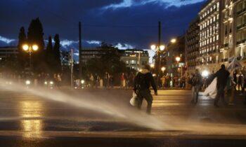 Επεισόδια ξέσπασαν στην Αθήνα - Η Αστυνομία έκανε χρήση χημικών