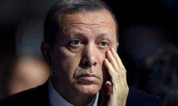 Στενοχωρημένος ο πρόεδρος της Τουρκίας Ρετζέπ Ταγίπ Ερντογάν