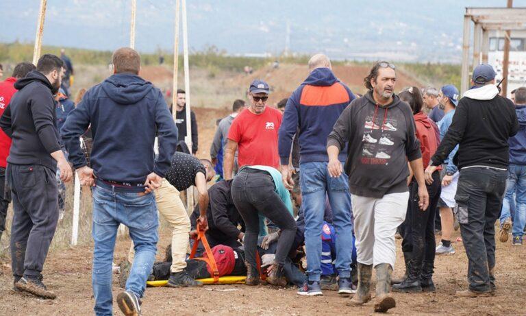 Γιαννιτσά: Σοβαρό ατύχημα σε αγώνες motocross με δύο τραυματίες που δίνουν μάχη για τη ζωή (pic & vid)