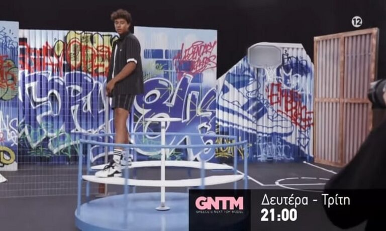 GNTM 4: Ατύχημα σε φωτογράφιση (video)