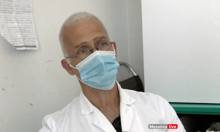 Πέθανε ξαφνικά ο διευθυντής της κλινικής Covid-19 στη Καλαμάτα, Νίκος Γραμματικόπουλος
