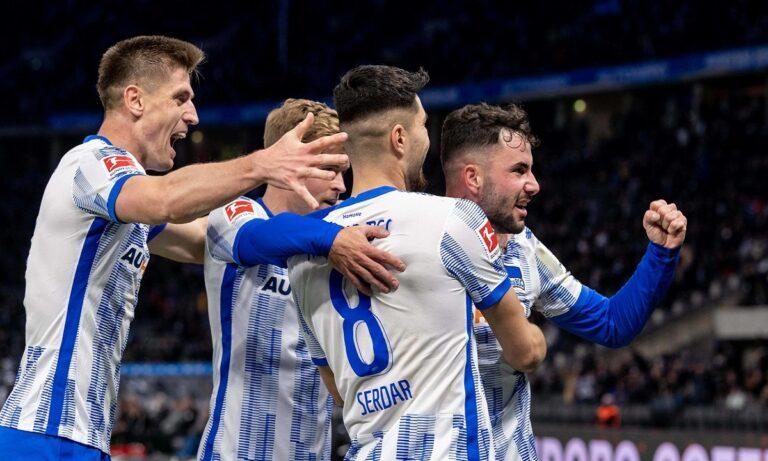 Χέρτα – Γκλάντμπαχ 1-0: Κέρδισε και προσπέρασε!