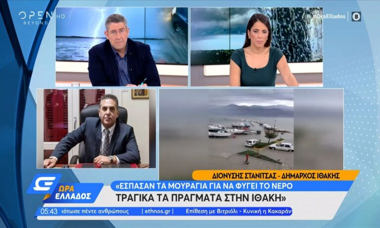 Κακοκαιρία Μπάλλος: Χάος σε όλη την χώρα – Υποχώρησαν δρόμοι – Σε κόκκινο συναγερμό Κέρκυρα και Ιθάκη!