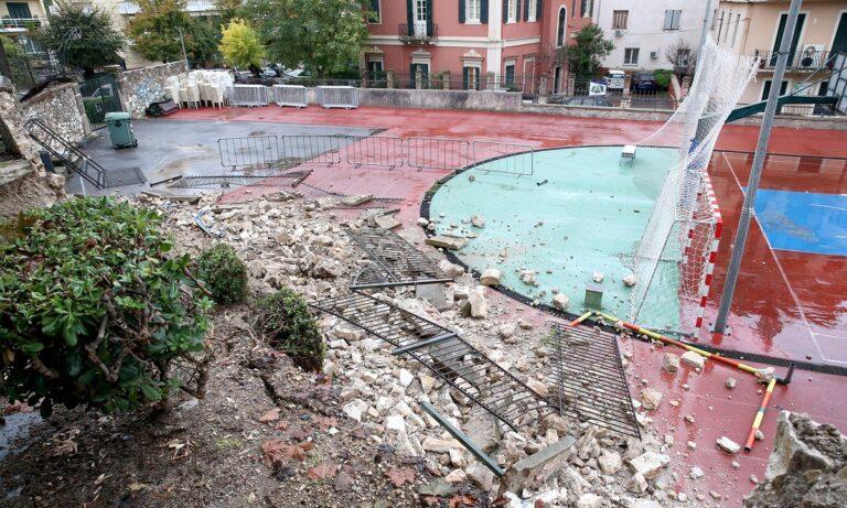 Κακοκαιρία Μπάλλος: Δραματική η κατάσταση στην Κέρκυρα – Κραυγή αγωνίας από πολίτες