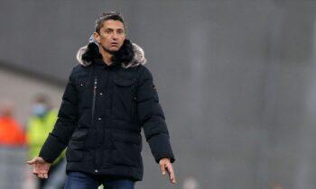 Ο προπονητής του ΠΑΟΚ. Ραζβάν Λουτσέσκου.