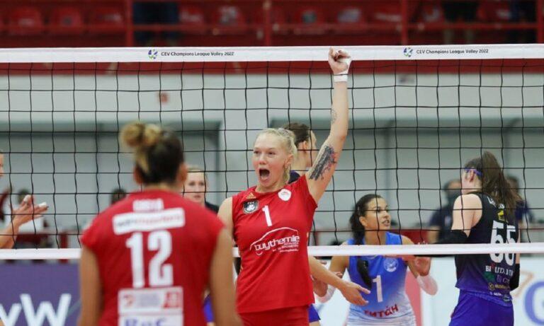Μινχάσκα Μινσκ - Ολυμπιακός 0-3: Πρόκριση για τις «ερυθρόλευκες»