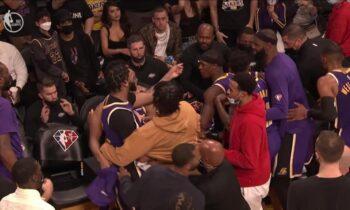NBA: Σοβαρός καυγάς ανάμεσα σε Ντέιβις και Χάουαρντ - Πιάστηκαν στα χέρια εν ώρα αγώνα! (vid)