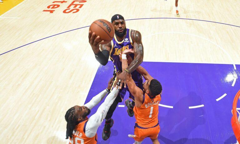 NBA αποτελέσματα: Νέα ήττα για Λέικερς – Ματσάρα μεταξύ Γουίζαρντς και Πέισερς