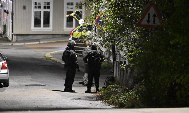 Νορβηγία: Live εικόνα από το σημείο της επίθεσης – Τουλάχιστον 4 νεκροί