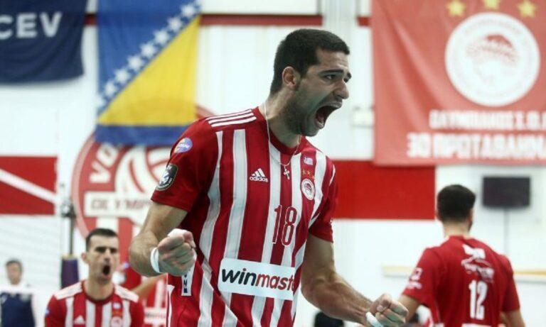 Ολυμπιακός – Μλάντοστ Μπρκο 3-0: Περίπατος για τους «ερυθρόλευκους»