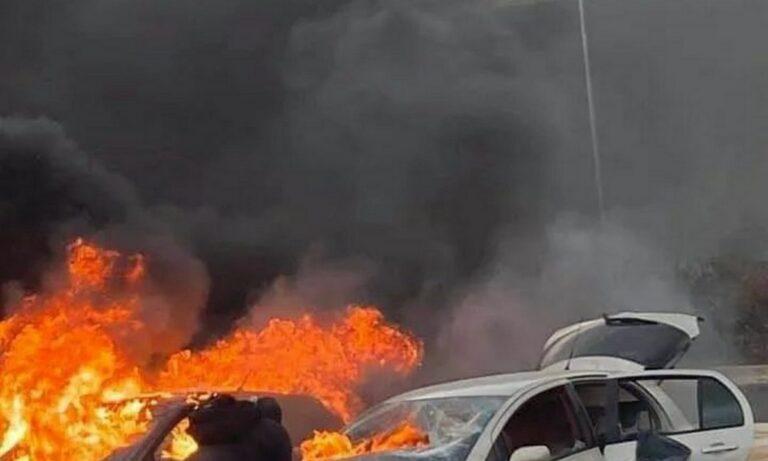 Τι αναφέρει η Πυροσβεστική στο Twitter για τα επεισόδια στη Μαλακάσα, λίγες ώρες πριν από το ντέρμπι Ολυμπιακός - Παναθηναϊκός