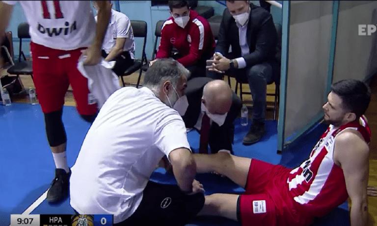 Ολυμπιακός: Τραυματίστηκε ο Παπανικολάου