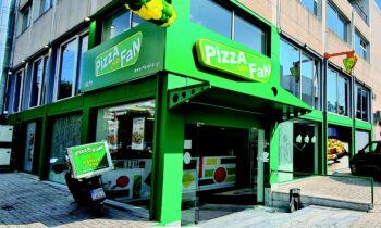 Με 81 καταστήματα στην Ελλάδα και 2 στην Κύπρο η Pizza Fan είναι σήμερα η μεγαλύτερη εταιρεία pizza delivery στην Ελλάδα