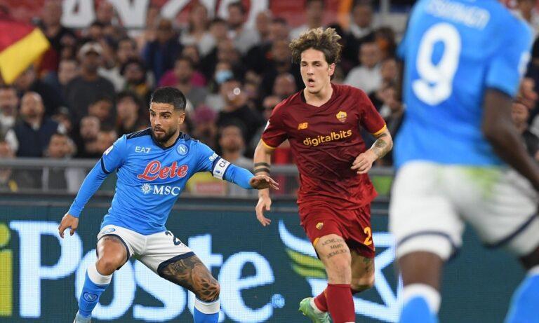 Ρόμα – Νάπολι 0-0: Πρώτη «στάση» στο Ολίμπικο