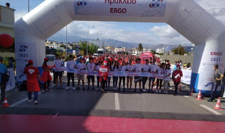 Ο Γιάννης Ζερβάκης νικητής στα 10χλμ. στο Run Greece στο Ηράκλειο