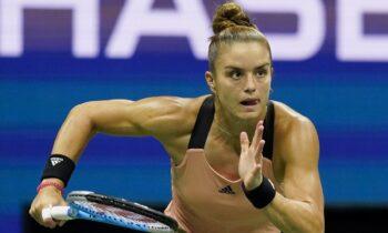 Σάκκαρη: «Μου δίνει μεγάλο κίνητρο το να μπω στο WTA Finals» - Επόμενη αντίπαλος η Γκόλουμπιτς για τη Μαρία