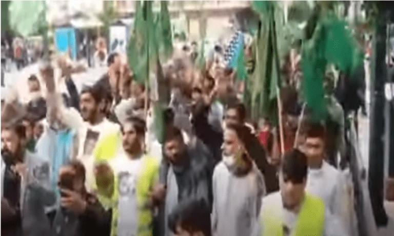 Ανεμπόδιστα έγινε η θρησκευτική πορεία Πακιστανών στην Αθήνα, την ώρα που οι Ορθόδοξες λιτανείες περνούν από «κόσκινο»!