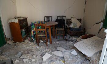 Σεισμός: Ξεπέρασαν τους 3.000 οι έλεγχοι σε οικίες και κτίρια που υπέστησαν ζημιές.
