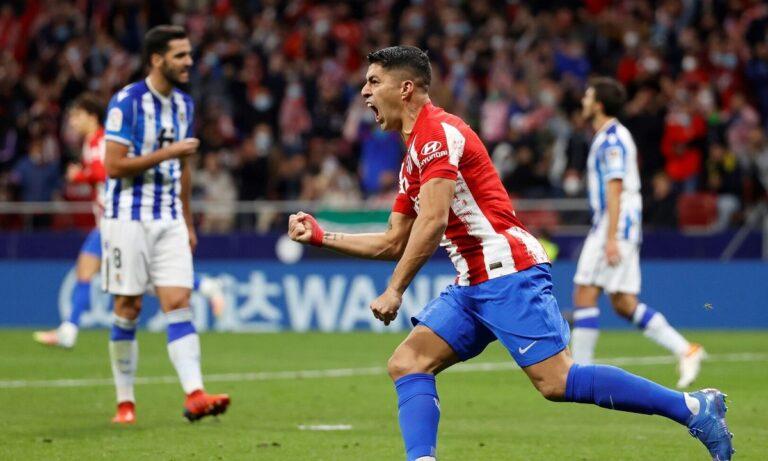 Ατλέτικο Μαδρίτης – Σοσιεδάδ 2-2: Έσωσε την «παρτίδα» με Σουάρες