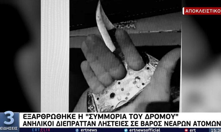 Συμμορία του δρόμου: Σοκαριστικά πλάνα από την επίδειξη οπλοστασίου και κλοπιμαίων (vid)