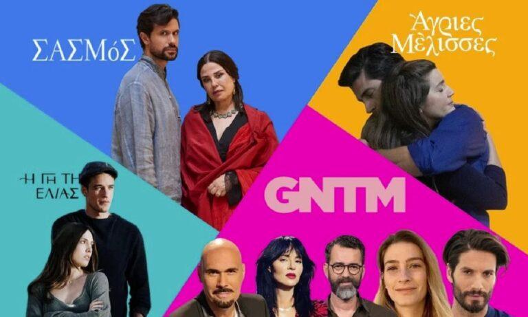 Τηλεθέαση: Σάρωσαν «Το Πρωινό» και «Σασμός» – Στα τάρταρα το GNTM!