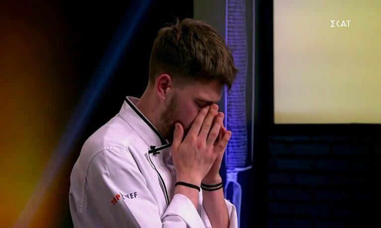Νέα αποχώρηση και δάκρυα στο Top Chef.